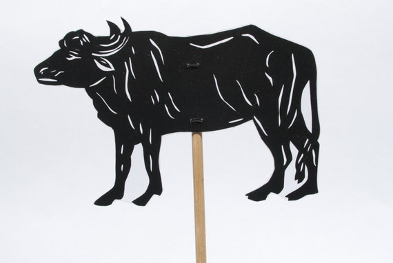 Elephant Hand Shadow Puppet Cow Shadow Puppet Hand Cut
