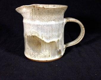Vintage Handmade Pottery Creamer
