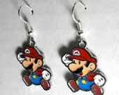 Mario Bros. Super Jump Earrings (FREE SHIPPING)