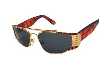 Cazal Inspired Sunglass Vintage Gold/Tortoise (SALE)