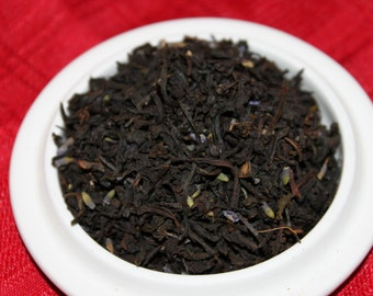 Earl Grey Tea:  Lavender Earl Grey Black Tea -Whole Leaf Blend