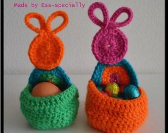 Easter egg holder  CROCHET PATTERN  -  Paasei houder HAAKPATROON