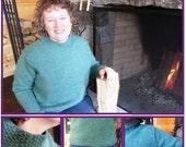 Mock Turtleneck Sweater Pattern