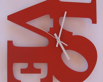 Love Clock,Home Decor Clock,Love Gives,Wall Clock. Original clock