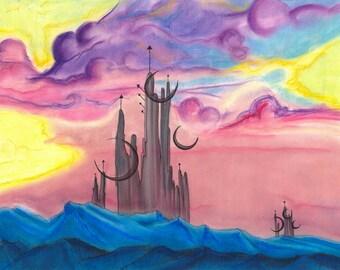 SALE Moon Castles