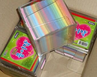 7cm X 7 cm Single-side Crane Folding  Origami Paper 4,000 Sheets LOT