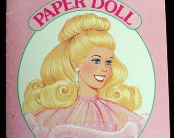 Vintage Barbie Paper Doll from the 80s.