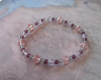 Purple quartz bracelet