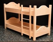 Bunk Beds for 18 inch Dolls (074)