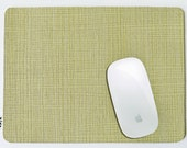Light Green mousepad (with thin stripes of Brown & White) - other Colours available