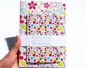 Inky Floral Notebook Set - A5 & A6