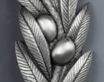 The Olive Branch Shalom Mezuzah BY Design By Tova