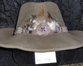 Hatband, Cowboy style