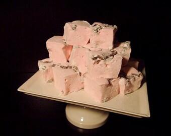 Sweet Sweet Mallow Homemade Marshmallows (Pink Chocolate Chip)