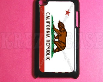 California Flag Ipod Touch 4 Case - Ipod 4G Touch Case, 4th Gen Ipod Touch Cases