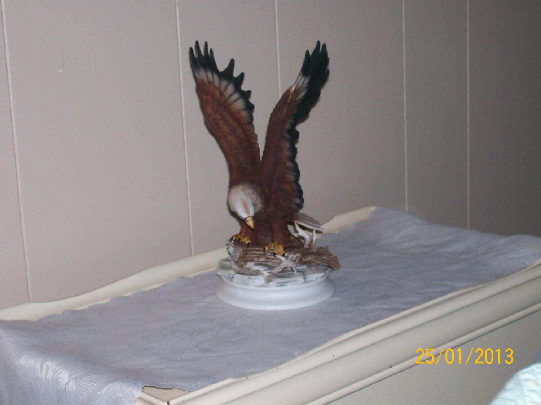 Home Interiors Masterpiece Figurine Eagle