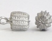 Replica Tudor Pewter Herzog Buttons for Renaissance/Elizabethan Reenactment