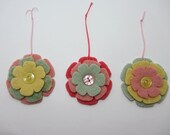 Felted Wool Easter Ornaments
