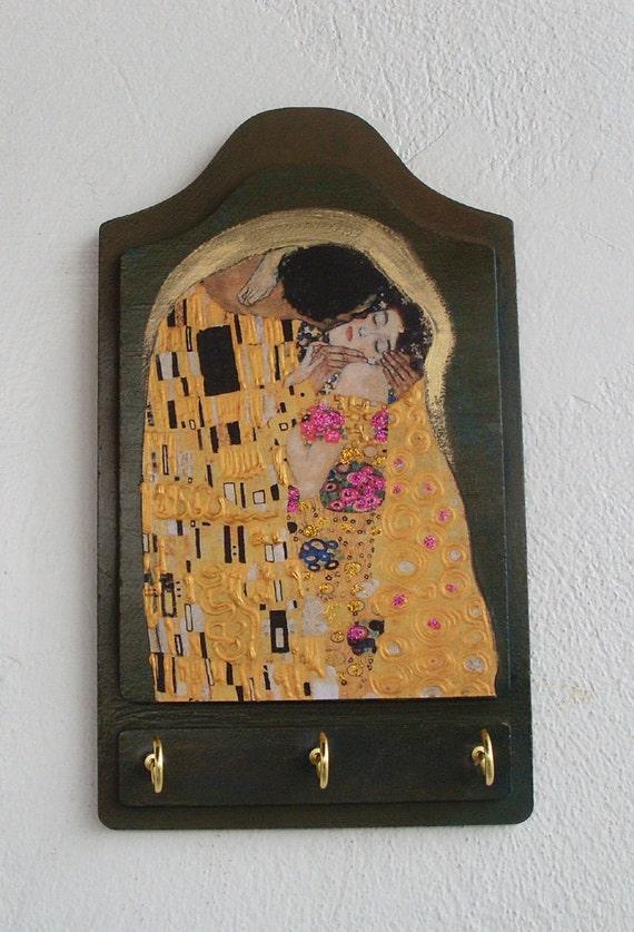 KISS - Wooden Key Holder
