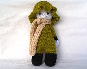 Wooly Dublin. INSTANT DOWNLOAD PDF pattern. Pdf amigurumi. Pdf crochet doll.