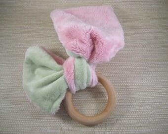 Teething Ring - Baby -Pink