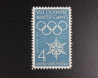 1146 Winter Olympics Vintage Stamps (100)