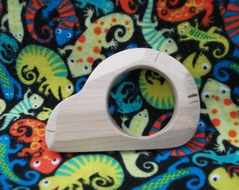 Maple wood teether (car)