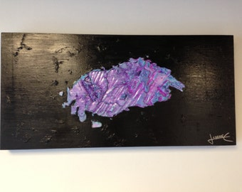 Textured abstract art. Gloop in Space
