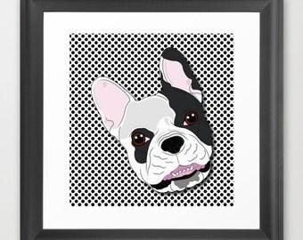 Peek-a-boo Bulldog
