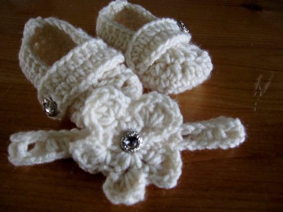 Zapatitos de bebe de crochet mas deadema GRATIS por Karohook