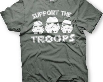 Star Wars Stormtrooper Support Our Troops.