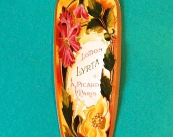 Vintage Paris Label, Antique Lotion Lyrta, A. Picard, Paris