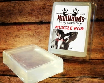 Muscle Rub Scented Soap 3 oz. Bar
