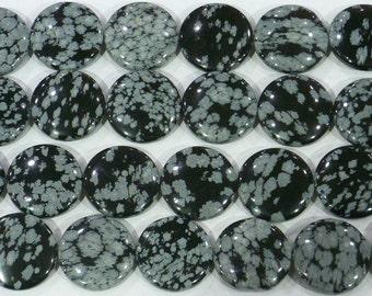 18mm Flat Round Black Line Jasper Beads Genuine Natural  6226 15''L 38cm Loose Beads Semiprecious Gemstone Bead   Supply