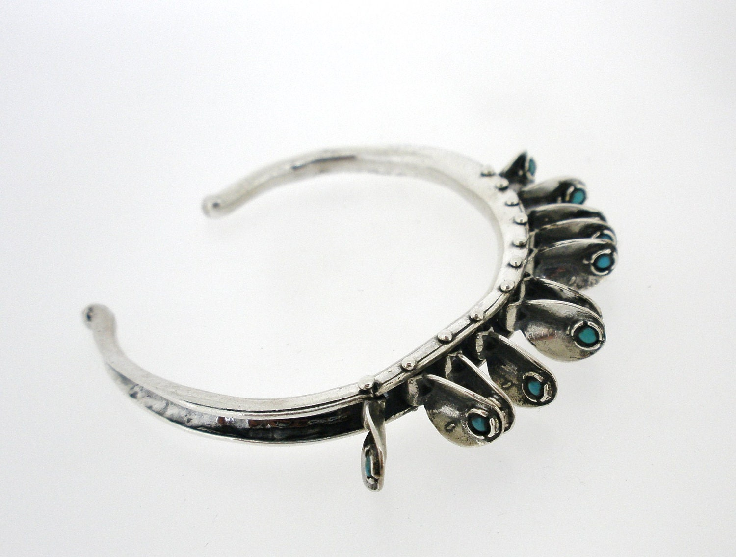 Ready To Ship Handcrafted 925 Sterling Silver Bracelet, Opal, Unique Design by Poran, Made In Israel