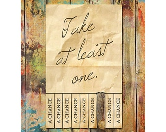 MA241 - Take a Chance