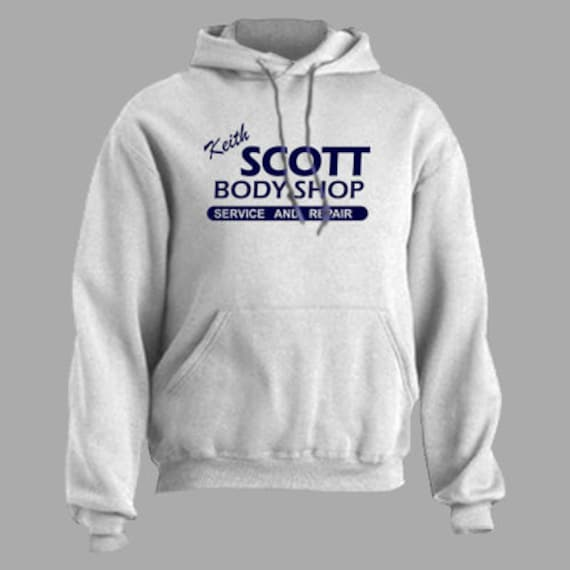One Tree Hill - Uomo Felpa Con Cappuccio Felpa Con Cappuccio Keith Scott BODY SHOP