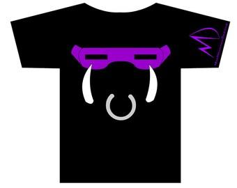 TMNT Teenage Mutant Ninja Turtles Bebop METALLIC T-shirt