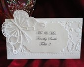 Elegant Butterfly Table Place Cards