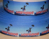 "3 Yard of 1"" Mary Poppins Grosgrain Ribbon"