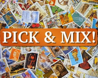 Pick & Mix 10x your choice from our Australian Stamps range