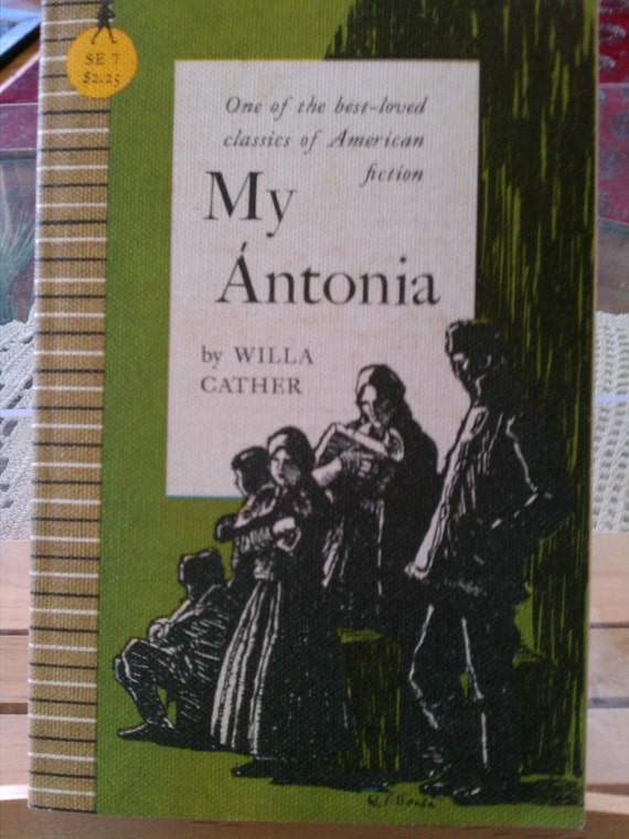 an evaluation of the symbolism used in willa cathers novel my antonia Lee 80-86 woodress, willa 213-30 for cather's evaluation of alexander  my Ántonia, by willa cather  see also willa cather, the novel dÁmeublÁ, new.