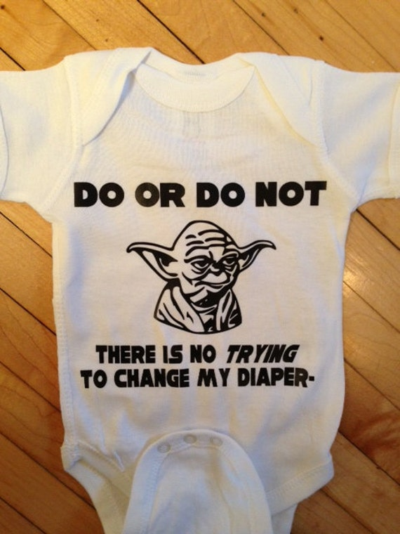 Items Similar To Star Wars Inspired Baby Body Suit One