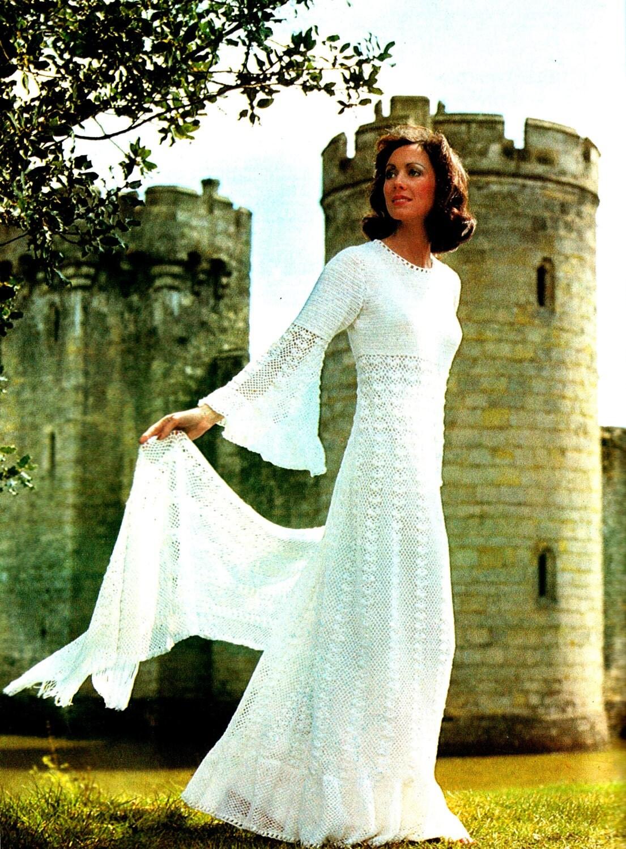 Download Now Vintage Crochet Pattern Pdf Wedding By