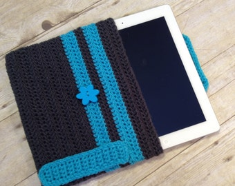 Tablet cozy with additional stylus holder READY TO SHIP