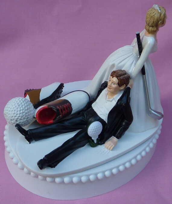 golf themed wedding cake toppers wedding cake topper golf fan golfing groom golfer shoes 14845