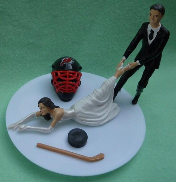 Chicago Bulls Wedding Cake Topper