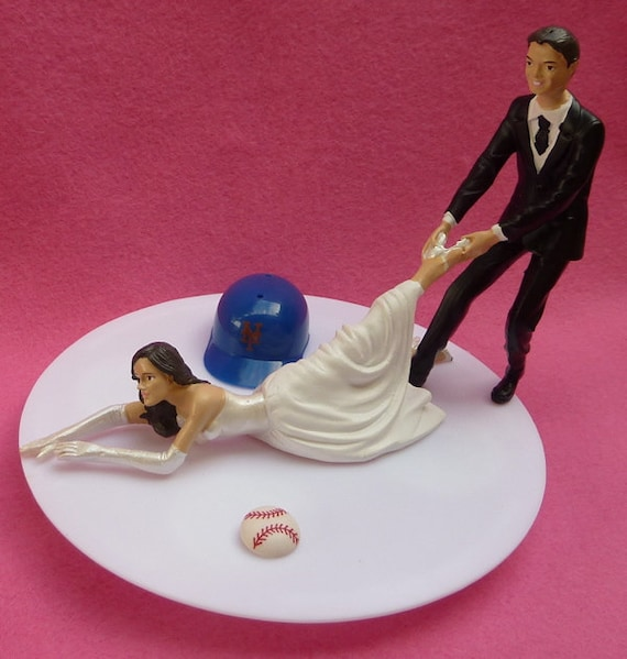 new york themed wedding cake toppers wedding cake topper new york mets ny g baseball themed w 17834