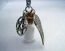 Supernatural Inspired Salt Protection Necklace
