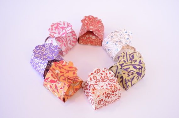 Indian Wedding Gift Box : Small Favor Boxes, Ring Box,Wedding Gift Box, Indian Wedding Favor Box ...